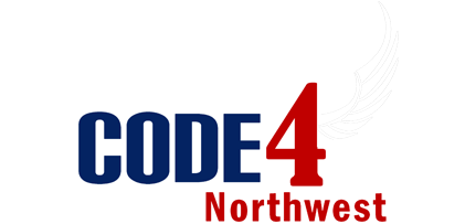 Code 4 Northwest Logo